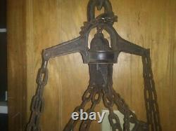 Used Like New1908 F E. Myers antique hay trolley. Complete fully functional