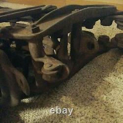 Vintage Cast Iron Louden Easy Lock Hay Barn Trolley Pulley Fairfield Iowa