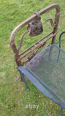 Vintage Clover Leaf Hay Trolley