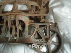 Vintage Jamesway Hay Trolley