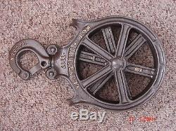 Vintage Louden Senior Adjustable Hay Trolley & Pulley