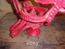 Vintage Ney Hay Trolley Canton Ohio Barn Primitive Carrier Antique 45 46