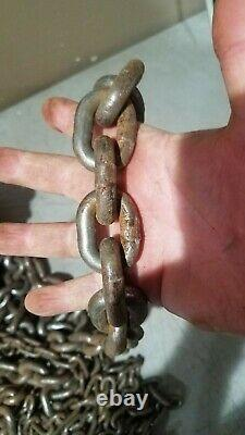 Vintage Nitto 1 Ton Duplex Screw Block Chain Hoist Made in Japan Free Shipping