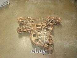 Vintage Rare Antique Cast Iron Ney No. 150 Hay Unloader Trolley Pulley FREE SHIP