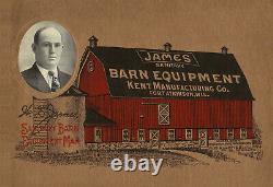 Vintage Rare Jamesway Cast Barn Trolley or Hay Trolley very nice
