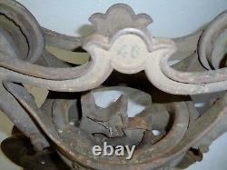 Vintage antique The Ney Mfg Co. Canton Ohio- loose hay trolley carrier