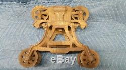 Vintage hay trolly